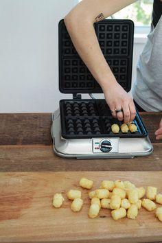 Tater Tot Waffles! #WhattheHack