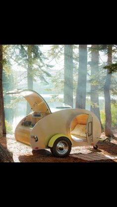 Tear drop camper.......this would be awesome!!!