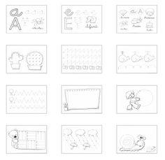 Fichas de grafomotricidad para niños de 4 años