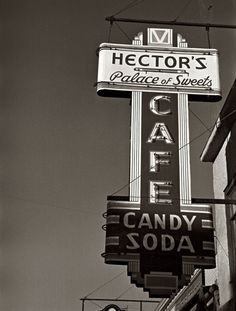 Hector's Palace of Sweets: 1937