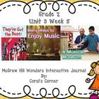 This 2nd grade interactive journal is aligned to Common Core and to the McGraw Hill Wonders series for Unit 3-Week 5. This highly INTERACTIVE journ...