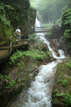 The Flume, #Franconia, NH