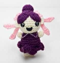 Amigurumi Sprite Ravelry website - free registration is required to download pattern