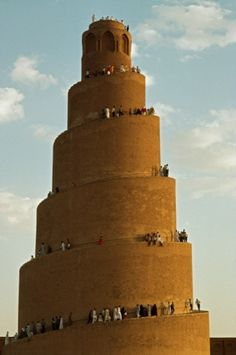 Al Samara / Iraq (In Bibical times, Iraq was part of Persia.... Babylon is there, and this resembles the Tower of Babel