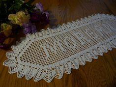 New Handmade Custom Crochet NAME by MyDreamCrochets on Etsy, $30.00