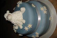Baptism Lamb Cake