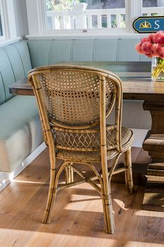 Cane dining chair Co