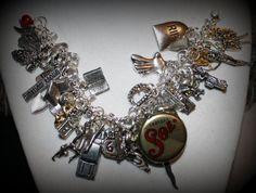 Supernatural Dean Sam John Winchester Charm Bracelet