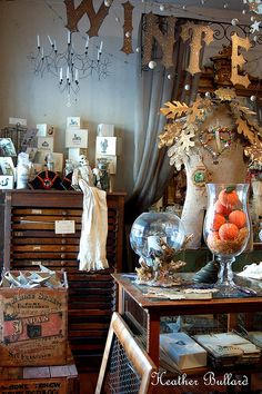 Wendy Addison's studio ~ a magical place!