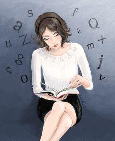 La liseuse by Cécile Mancion