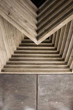 Carlo Scarpa   Brion-Vega cemetery ceiling detail   - Photo by Andrea Andreuccetti.