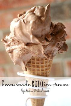 homemade rolo ice cream #ad #pmedia #showusyourmess