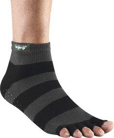Because what's better than toe socks?  TOELESS socks!