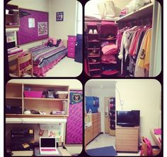 Dorm room, North Russell Hall, #Baylor University. FINALLY I know the layout of my room.