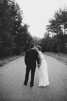 bethany + michael   Mille Petals Corset Gown from BHLDN   via: junebug weddings   #BHLDNbride