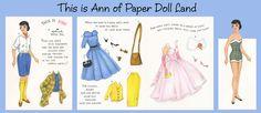 Vintage paper dolls (Free)