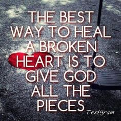 give God the pieces