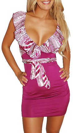 Great Flavor (Berry/White)-Great Glam is the web's top online shop for trendy clubbin styles, fashionable party dress and bar wear, super hot clubbing clothing, stylish going out shirt, partying clothes, super cute and sexy club fashions, halter and tube