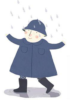 il pleu. by Clare Owen Illustration, via Flickr