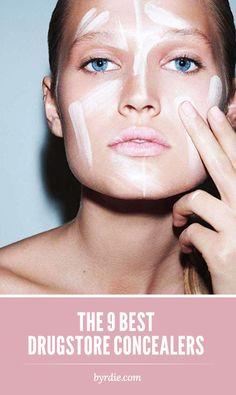 The BEST under $10 drugstore concealers: a celebrity makeup artist's list. // #makeup #concealer #beauty