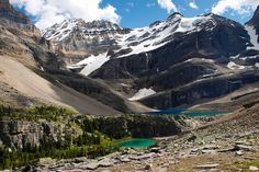 Lake Oesa - Yoho National Park in Canada by Laurent L., via Flickr