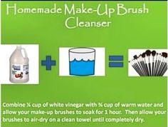 DIY- Makeup Brush Cleanser