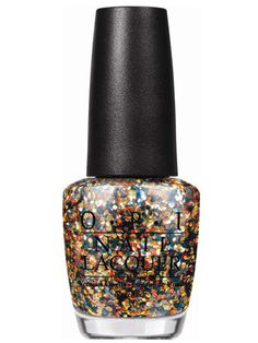 10 Best Sparkly Nail Polishes for Holiday Festivities: Nail Lacquer in The Living Daylights, $8.50, O.P.I.