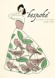 matouenpeluch, bird artcraftsnicnac, dress, art prints, illustr art