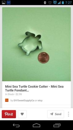 Christmas - turtle cookie cutter