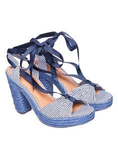 Ravel Espadrille Tie Sandals