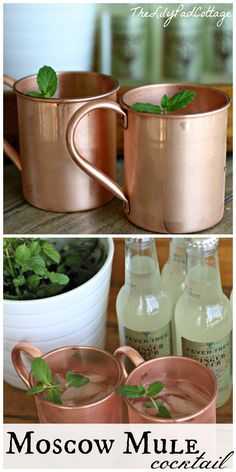 Moscow Mule Cocktail - www.thelilypadcottage.com