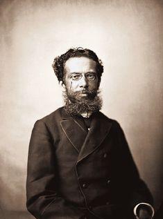 Machado de Assis, em 1890. Foto de Marc Ferrez.