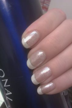 Shimmer French Manicure