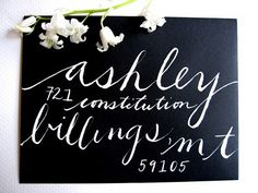 nice caligraphy by elsita