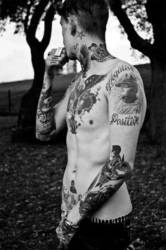 Tattooed guys. #tattoo #tattoos #ink #inked