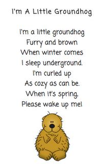classroom, idea, groundhog poem, februari, kindergarten poem, kindergarten groundhog day, poems for kindergarten, kindergarten literaci, teach