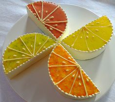 Pinwheels and slices