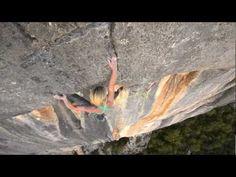 "Monique Forestier at Verdon Gorge climbing ""Tom et je Ris"" (8b+). Very aesthetic video."