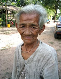 An old woman in Tawon village, northeast Thailand     How to find cougars who know what they want and can teach you a thing or two are looking for you   here. Learn more on cougarsplace.com