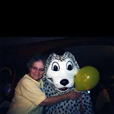 Happy dog & happy grandma...