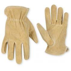 CLC Work Gloves - Kids Split Cowhide Driver