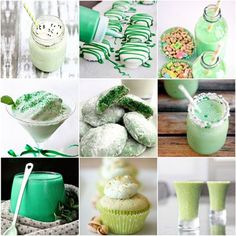 20 Shamrock Shakes and Treats for You and Your Little Leprechauns on St Patrick's Day   MollyMooCrafts.com for @Spoonful