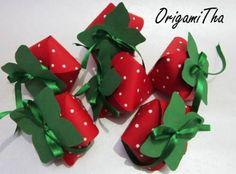 Forminha para doces _ Morango