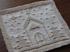 O Holy Night dishcloth ~ free pattern