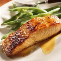 Sweet Baked Salmon on BigOven: