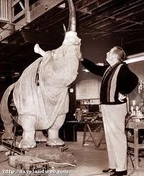 Walt and the Rhino.