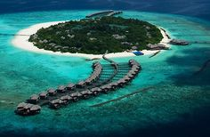 The Waldorf Astoria in the Maldives ... yes please!