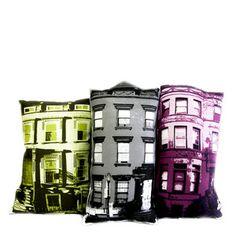 Build Your Block cityscape pillow sets