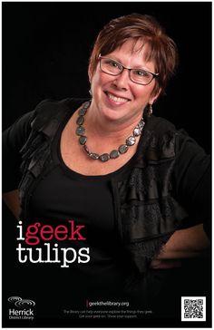 """i geek tulips"""