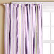 stripe curtain, kids rooms decor, purpl stripe, kid rooms, curtain panel, girl curtain